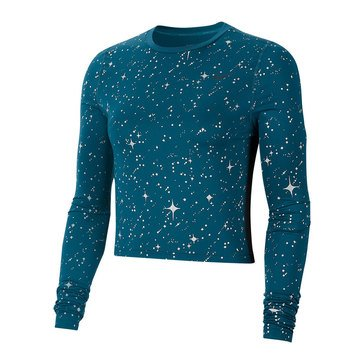 Nike Women's NP Starry Night MTLC Top