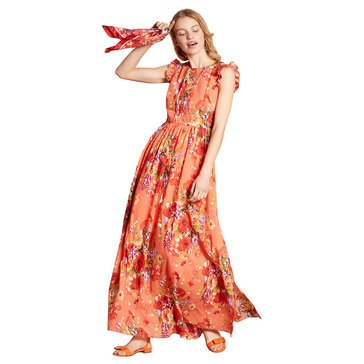 Brooks Brothers Women's Fun Floral Maxi Dress