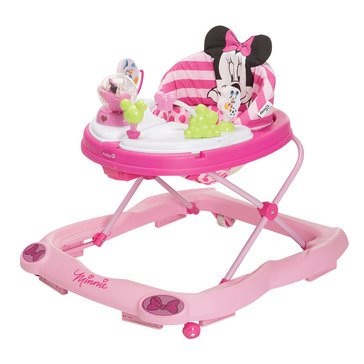Disney Baby Minnie Mouse Music Lights Walker Glitter Minnie