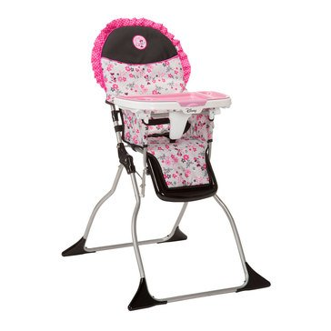 Disney Baby Simple Fold Plus High Chair Minnie Garden Delight