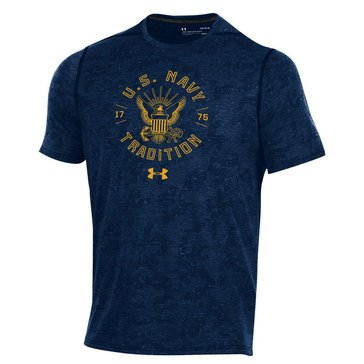 Under Armour Men's USN Eagle Traditional Circular TB Wet Paint Camo Tee