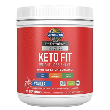 Dr. Formulated Keto Fit Vanilla 10 servings