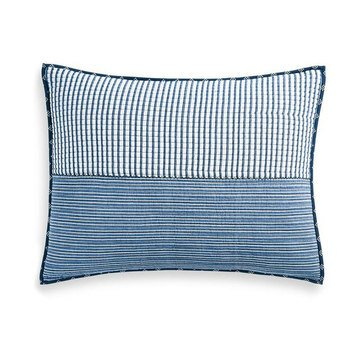 Martha Stewart Collection Nautical Stripe Pillow Case, King