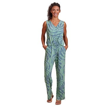 Fresh Produce Women's Palawan Palm Ophelia Jumpsuit