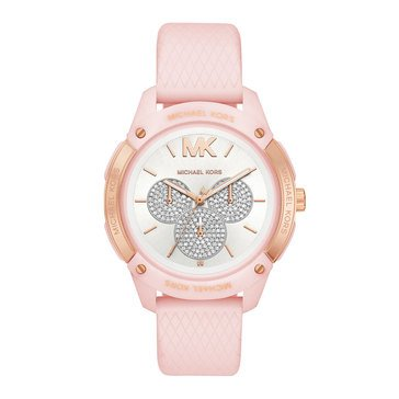 Michael Kors Women's Ryper Silcone Watch, 44mm