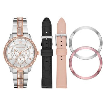 Michael Kors Women's Ritz Leather Watch, 38mm