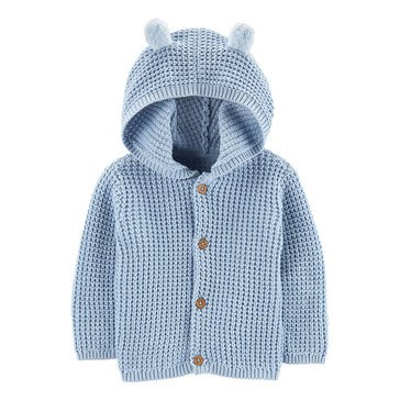 Carter's Baby Boys' Hooded Cardigan