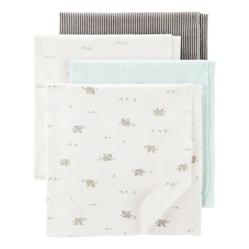 Carter's Baby 4-Pack Receiving Blankets