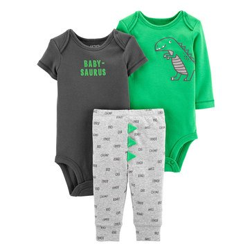 Carter's Baby Boys' 3-Piece Dinosaur Little Character Set