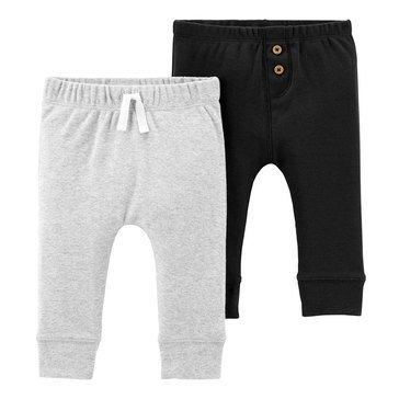 Carter's Baby Boys' 2-Pack Cotton Pants