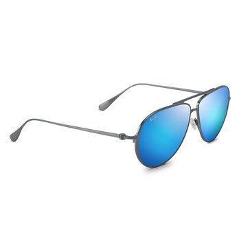 Maui Jim Unisex Shallows Dove Grey Aviator Sunglasses
