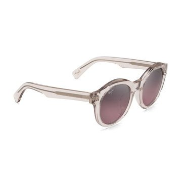 Maui Jim Women's Jasmine Crystal with a Hint of Pink Fashion Sunglasses