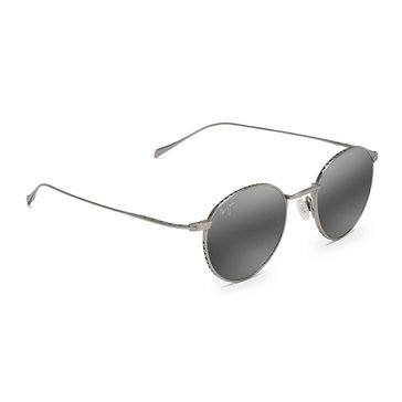Maui Jim Unisex North Star Matte Silver Classic Sunglasses