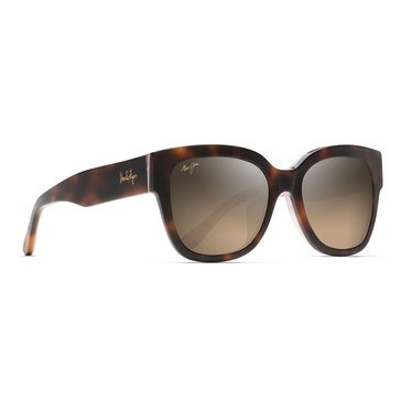 Maui Jim Women's Rhythm Tortoise with Pink Tones Fashion Sunglasses