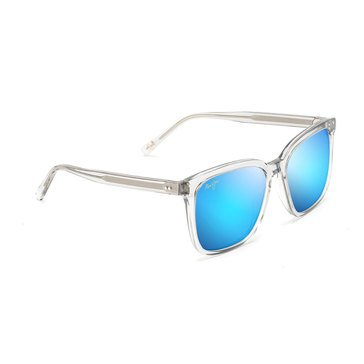 Maui Jim Unisex Westside Light Grey Crystal Fashion Sunglasses