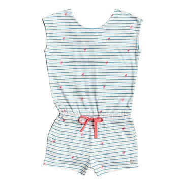 Roxy Little Girls' Sleeping Ocean Knit Romper