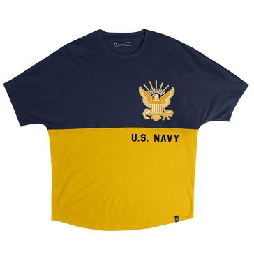 Under Armour Men's USN Wingspan Color Block Tee