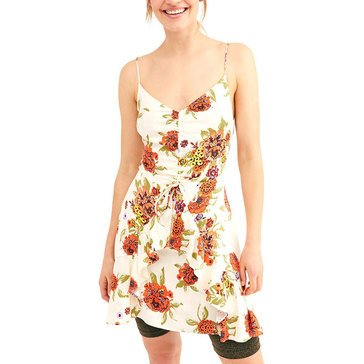 Free People Women's Happy Heart Print Mini Dress