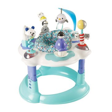 Evenflo ExerSaucer Polar Playground Bouncing Activity Center