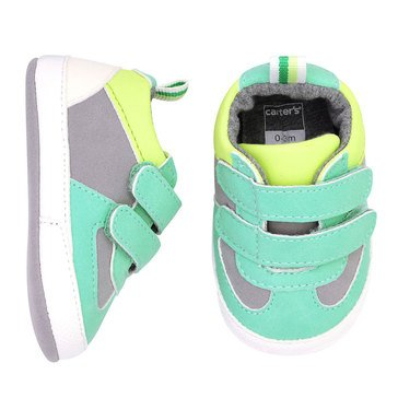 Carter's Baby Boys' Green Double Strap Sneaker