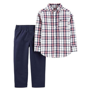 Carter's Baby Boys' 2-Piece Shirt Pant Set