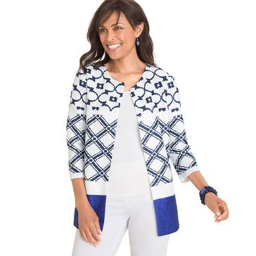 Chico's Women's Travelers Moroccan Crushed Jacket