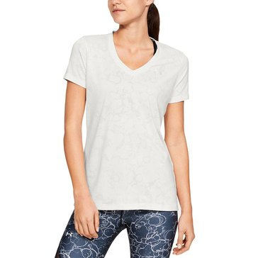 Under Armour Women's Tech Marble Jacquard Tee