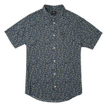 Rvca Men's Revivalist Floral Shirt