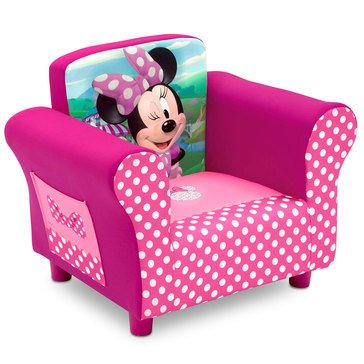 Disney Minnie Mouse Kids Upholstered Chair by Delta Children
