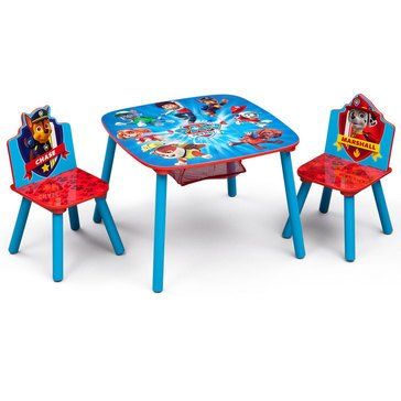 Nick Jr. PAW Patrol Kids' Table Chair Set 2 Chairs Included by Delta Children