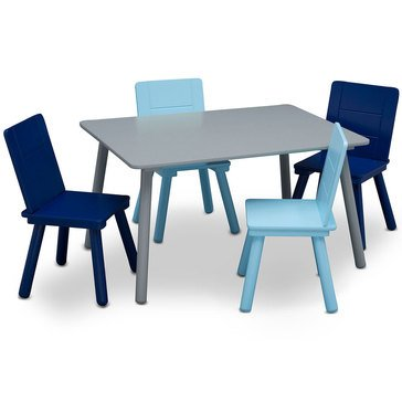 Delta Children Table and Chair Set 4 Chairs Included