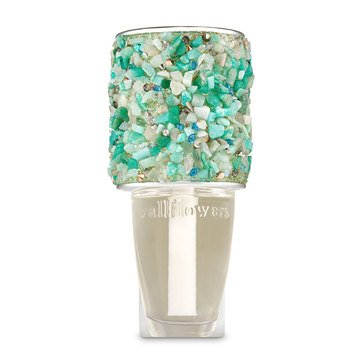 Bath and Body Works Turquoise Stone Topper Wallflowers Fragrance Plug