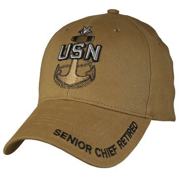 Eagle Crest Retired Senior Chief Petty Officer SCPO Cap