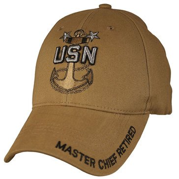 Eagle Crest Retired Master Chief Petty Officer MCPO Cap