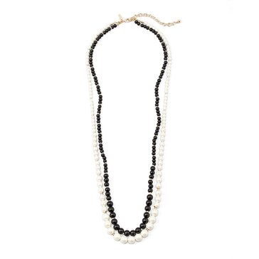 White House Black Market Women's Long Pearl Necklace