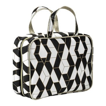 Modella Black and White Geo Weekender