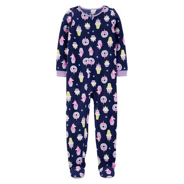 Carter's Fleece Unicorn Treat Onesie