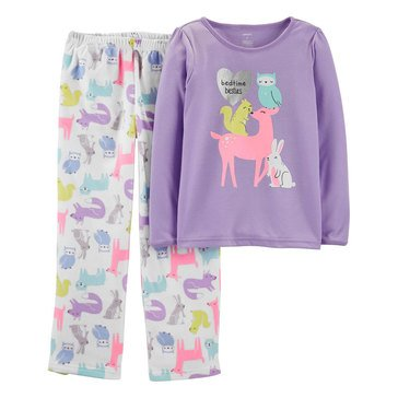 Carter's 2-Piece Forest Animal Print Pants Set