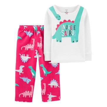 Carter's Little Girls' Dinosaurs Pant Set