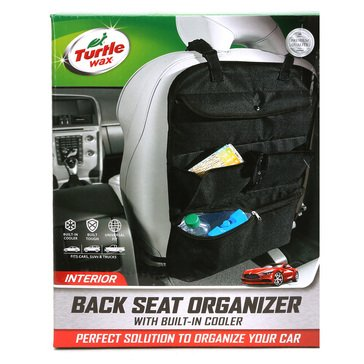 Turtle Wax Back Seat Organizer w/ Cooler