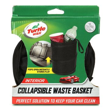 Turtle Wax Collapsible Waste Basket