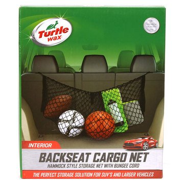 Turtle Wax Backseat Cargo Net Organizer