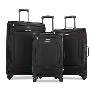 American Tourister Pop Max 3 Piece Luggage Set 21 25 and 29 Inch Spinner Uprights