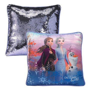 Frozen Skys The Limit Sequin Pillow