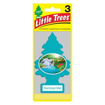 Little Trees Rainforest Mist 3-Pack Air Freshener