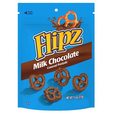 Flipz Milk Chocolate Pretzel 7.5 oz
