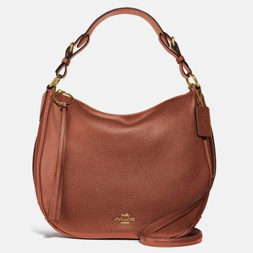 Coach Polished Pebble Leather Sutton Hobo 1941