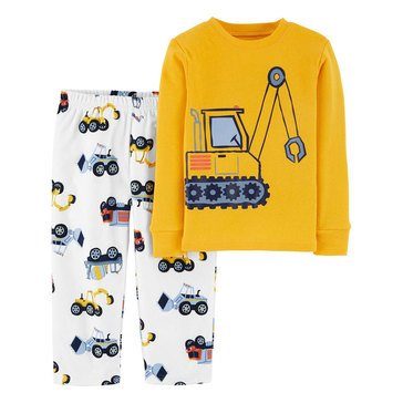 Carter's Toddler Boy's 2-Piece Construction Sleepwear