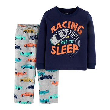 Carter's Toddler Boy's 2-Piece Racing Sleepwear