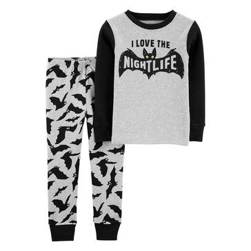 Carter's Toddler Boy's 2-Piece Bats Sleepwear